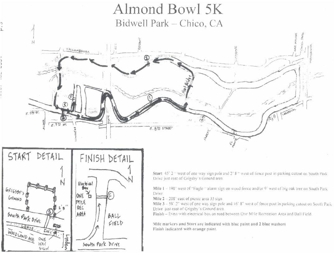 Chico Running Club Bidwell Classic Marathon Race In Northern Ca