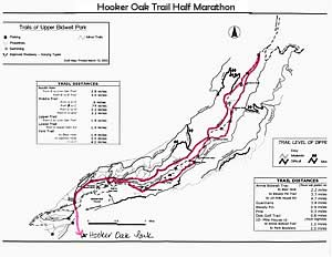 HOT Half Marathon Map, Chico CA